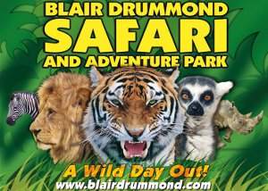 Blairdrummond Safari and Adventure Park, Blairdrummond, Stirling FK9 4UR